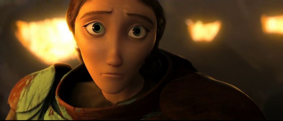 How to not train your dragon 2 love in the margins a sharp chinned animated white woman with huge eyes looks sadly at the viewer ccuart Gallery