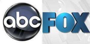 ABC TV logo next to FOX TV logo