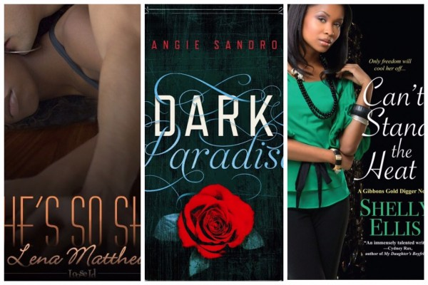 A collage of covers of books by black authors.