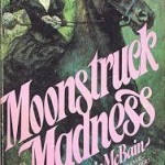 Original cover, a woman on horseback flees unseen pursuit