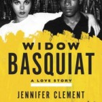 Mallouk and Basquiat sit, her arm across his shoulder, with a fat scrawl of yellow paint obscures their midsections and holds the book title.